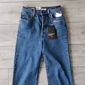Levi's Jeans - Levis x Hello Kitty RIBCAGE Jean *Limited Edition*